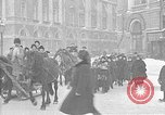 Image of snow covered roads Saint Petersburg Russia, 1920, second 41 stock footage video 65675053630