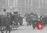 Image of snow covered roads Saint Petersburg Russia, 1920, second 43 stock footage video 65675053630