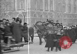 Image of snow covered roads Saint Petersburg Russia, 1920, second 44 stock footage video 65675053630