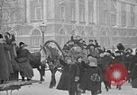 Image of snow covered roads Saint Petersburg Russia, 1920, second 45 stock footage video 65675053630