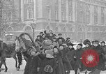 Image of snow covered roads Saint Petersburg Russia, 1920, second 46 stock footage video 65675053630