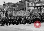 Image of Citizens parade Moscow Russia Soviet Union, 1946, second 27 stock footage video 65675053632