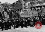 Image of Citizens parade Moscow Russia Soviet Union, 1946, second 31 stock footage video 65675053632
