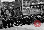 Image of Citizens parade Moscow Russia Soviet Union, 1946, second 32 stock footage video 65675053632