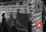 Image of Citizens parade Moscow Russia Soviet Union, 1946, second 36 stock footage video 65675053632
