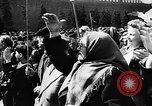 Image of Citizens parade Moscow Russia Soviet Union, 1946, second 54 stock footage video 65675053632