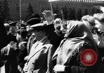 Image of Citizens parade Moscow Russia Soviet Union, 1946, second 56 stock footage video 65675053632