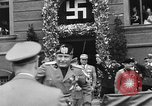 Image of Benito Mussolini Munich Germany, 1938, second 28 stock footage video 65675053638