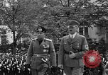 Image of Benito Mussolini Munich Germany, 1938, second 23 stock footage video 65675053639