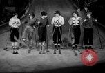 Image of indoor ski slope New York City USA, 1936, second 10 stock footage video 65675053650