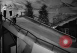 Image of indoor ski slope New York City USA, 1936, second 31 stock footage video 65675053650