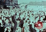 Image of German prisoners march Pilsen Czechoslovakia, 1945, second 6 stock footage video 65675055604