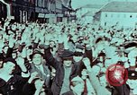 Image of German prisoners march Pilsen Czechoslovakia, 1945, second 8 stock footage video 65675055604