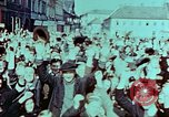 Image of German prisoners march Pilsen Czechoslovakia, 1945, second 14 stock footage video 65675055604