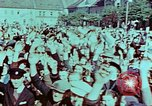 Image of German prisoners march Pilsen Czechoslovakia, 1945, second 20 stock footage video 65675055604