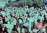 Image of German prisoners march Pilsen Czechoslovakia, 1945, second 22 stock footage video 65675055604