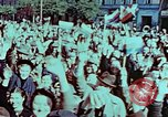 Image of German prisoners march Pilsen Czechoslovakia, 1945, second 24 stock footage video 65675055604