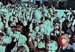 Image of German prisoners march Pilsen Czechoslovakia, 1945, second 27 stock footage video 65675055604