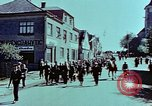 Image of German prisoners march Pilsen Czechoslovakia, 1945, second 29 stock footage video 65675055604