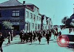 Image of German prisoners march Pilsen Czechoslovakia, 1945, second 30 stock footage video 65675055604