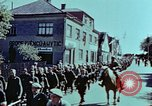 Image of German prisoners march Pilsen Czechoslovakia, 1945, second 36 stock footage video 65675055604