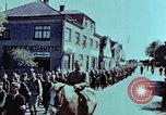 Image of German prisoners march Pilsen Czechoslovakia, 1945, second 39 stock footage video 65675055604