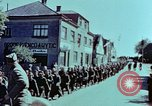 Image of German prisoners march Pilsen Czechoslovakia, 1945, second 41 stock footage video 65675055604