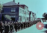 Image of German prisoners march Pilsen Czechoslovakia, 1945, second 43 stock footage video 65675055604