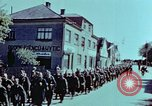 Image of German prisoners march Pilsen Czechoslovakia, 1945, second 44 stock footage video 65675055604