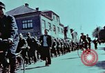 Image of German prisoners march Pilsen Czechoslovakia, 1945, second 47 stock footage video 65675055604