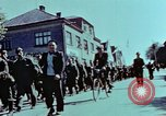 Image of German prisoners march Pilsen Czechoslovakia, 1945, second 48 stock footage video 65675055604