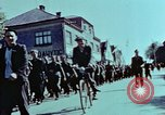 Image of German prisoners march Pilsen Czechoslovakia, 1945, second 49 stock footage video 65675055604