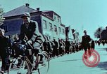 Image of German prisoners march Pilsen Czechoslovakia, 1945, second 50 stock footage video 65675055604
