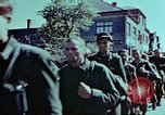 Image of German prisoners march Pilsen Czechoslovakia, 1945, second 55 stock footage video 65675055604