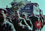 Image of German prisoners march Pilsen Czechoslovakia, 1945, second 57 stock footage video 65675055604