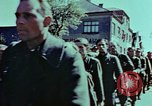 Image of German prisoners march Pilsen Czechoslovakia, 1945, second 59 stock footage video 65675055604