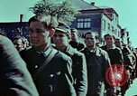 Image of German prisoners march Pilsen Czechoslovakia, 1945, second 62 stock footage video 65675055604
