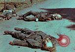 Image of German soldiers killed by Czechs, in Pilsen Czechoslovakia, a month be Pilsen Czechoslovakia, 1945, second 24 stock footage video 65675055606