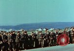 Image of German troops that have surrendered Pilsen Czechoslovakia, 1945, second 10 stock footage video 65675055607