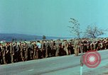Image of German troops that have surrendered Pilsen Czechoslovakia, 1945, second 20 stock footage video 65675055607