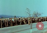 Image of German troops that have surrendered Pilsen Czechoslovakia, 1945, second 21 stock footage video 65675055607