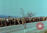 Image of German troops that have surrendered Pilsen Czechoslovakia, 1945, second 23 stock footage video 65675055607