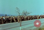 Image of German troops that have surrendered Pilsen Czechoslovakia, 1945, second 24 stock footage video 65675055607