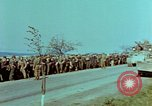Image of German troops that have surrendered Pilsen Czechoslovakia, 1945, second 27 stock footage video 65675055607