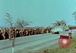 Image of German troops that have surrendered Pilsen Czechoslovakia, 1945, second 29 stock footage video 65675055607