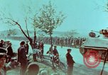 Image of German troops that have surrendered Pilsen Czechoslovakia, 1945, second 51 stock footage video 65675055607