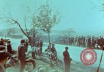 Image of German troops that have surrendered Pilsen Czechoslovakia, 1945, second 58 stock footage video 65675055607