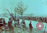 Image of German troops that have surrendered Pilsen Czechoslovakia, 1945, second 60 stock footage video 65675055607