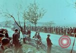 Image of German troops that have surrendered Pilsen Czechoslovakia, 1945, second 62 stock footage video 65675055607