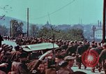 Image of German troops marching to surrender to Western Allies Pilsen Czechoslovakia, 1945, second 35 stock footage video 65675055608